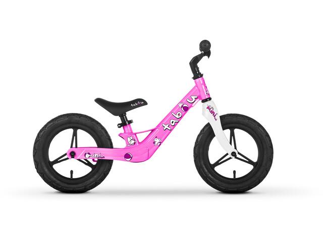 "TABOU Mini Run Bici senza pedali 12"" Bambino, rosa/viola"